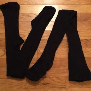 Girls old navy bundle of 2 tights.